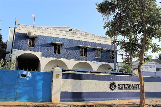 Stewart Pinned Products India Factory